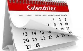 Nouveau calendrier scolaire